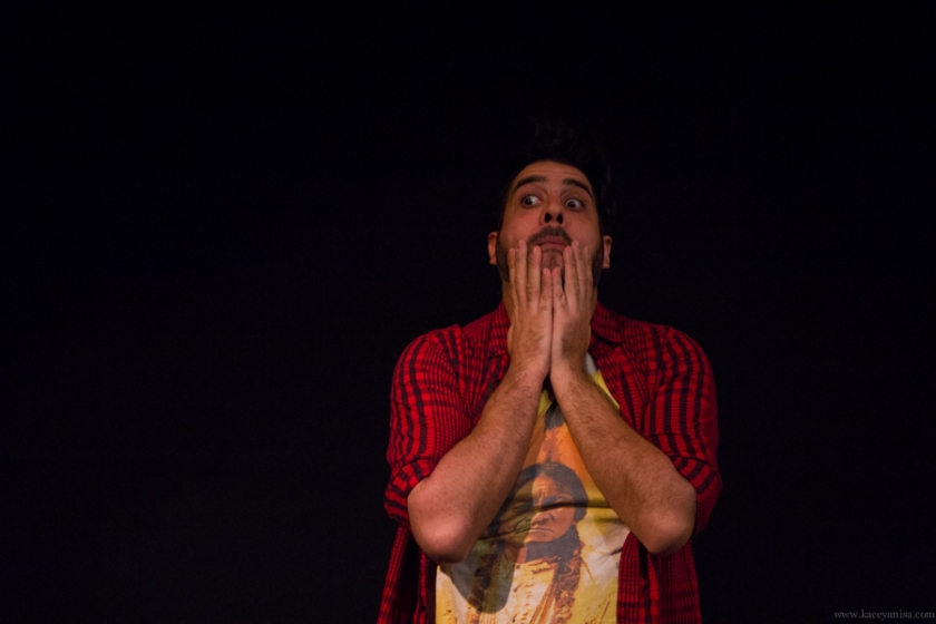 Pictured: Albert Andrew Garcia. Photo by Kacey Stamats.
