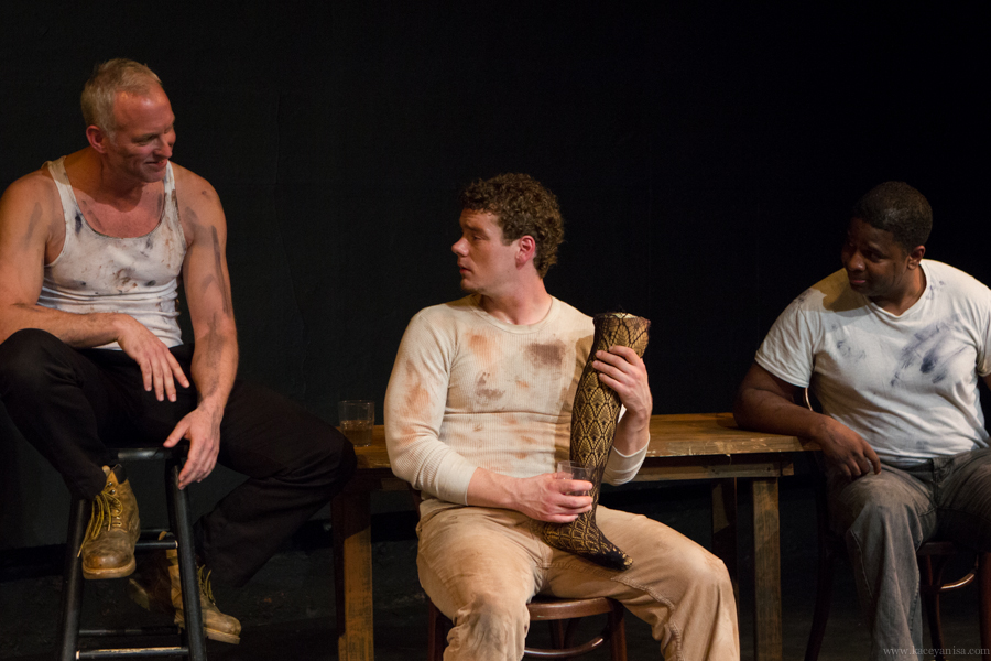 Pictured: Craig Zisel, Justin Fuller, and James Hunter. Photo by Kacey Stamats.