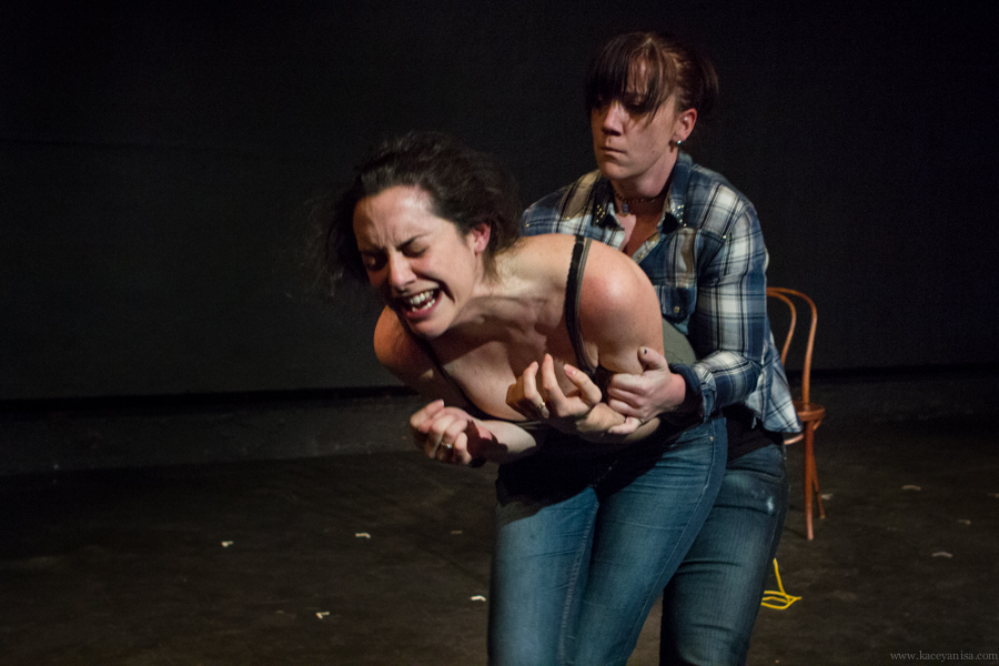 Pictured: Sarah Matteucci and Lauren Hennessy. Photo by Kacey Stamats.