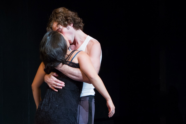 Pictured: Diana Oh and Nicko Libowitz. Photo by Kacey Stamats.