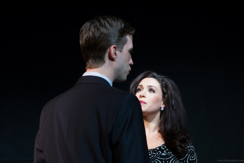Pictured: Stephen Heskett and Catherine LeFrere. Photo by Kacey Stamats.